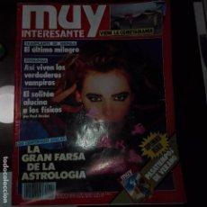 Coleccionismo de Revista Muy Interesante: MUY INTERESANTE.- AGOSTO DE 1990 NUMERO 111. Lote 74628819