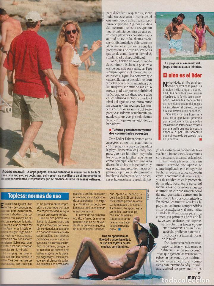 Coleccionismo de Revista Muy Interesante: MUY INTERESANTE - LOTE 57 REVISTAS DEL Nº 132 AL 188 (FALTA 176) + 2 ESPECIALES - BUEN ESTADO. - Foto 2 - 74644519