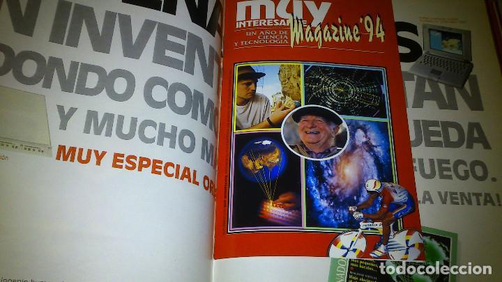 Coleccionismo de Revista Muy Interesante: MUY INTERESANTE - LOTE 57 REVISTAS DEL Nº 132 AL 188 (FALTA 176) + 2 ESPECIALES - BUEN ESTADO. - Foto 6 - 74644519