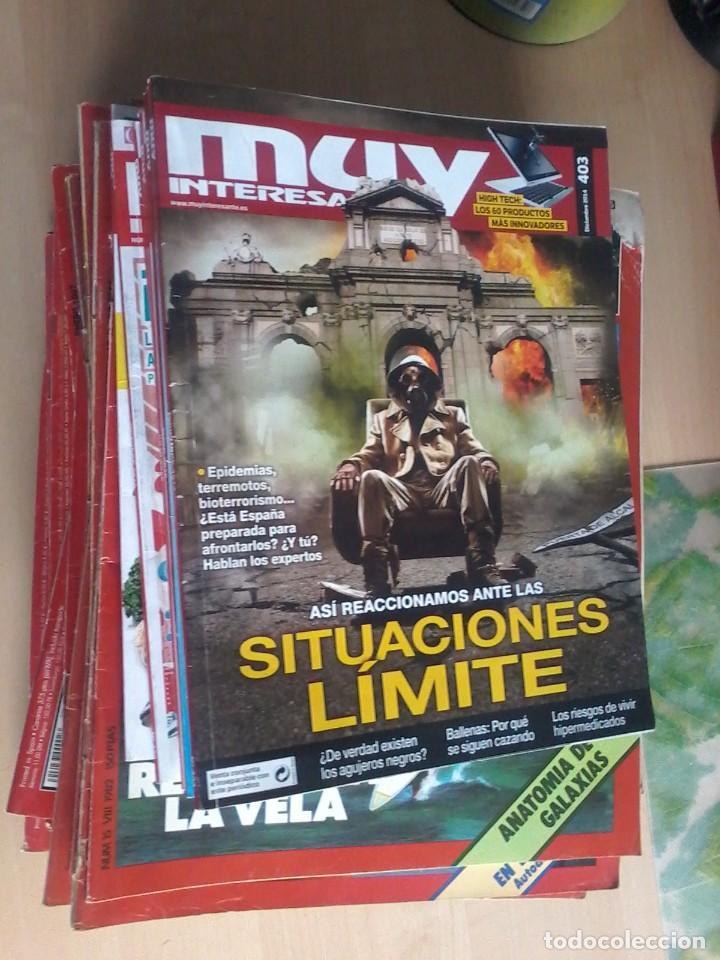 Coleccionismo de Revista Muy Interesante: LOTE DE 74 REVISTAS MUY INTERESANTE - Foto 2 - 77310309