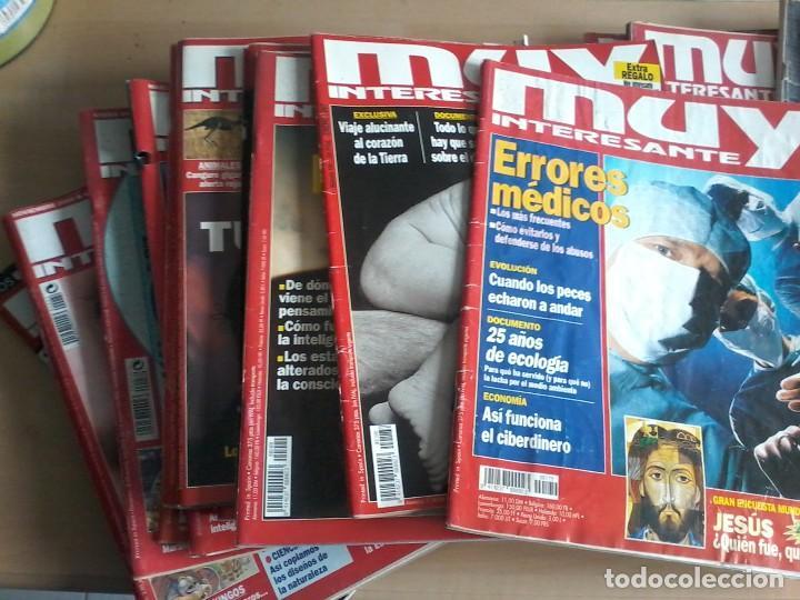 Coleccionismo de Revista Muy Interesante: LOTE DE 74 REVISTAS MUY INTERESANTE - Foto 4 - 77310309
