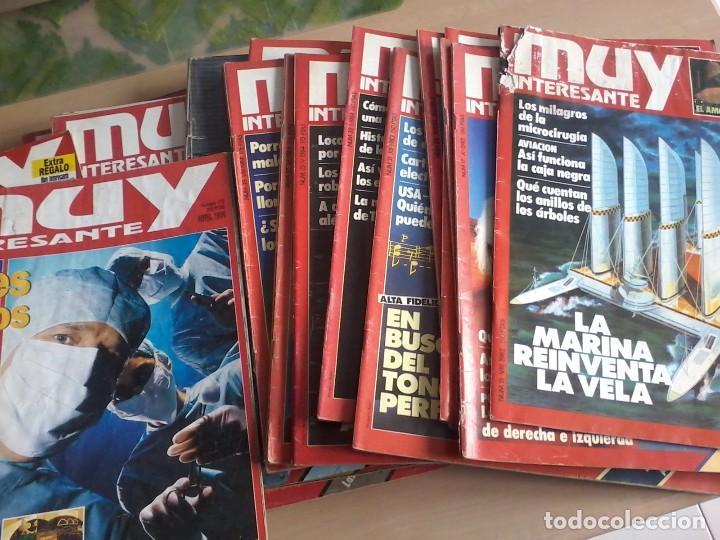 Coleccionismo de Revista Muy Interesante: LOTE DE 74 REVISTAS MUY INTERESANTE - Foto 5 - 77310309
