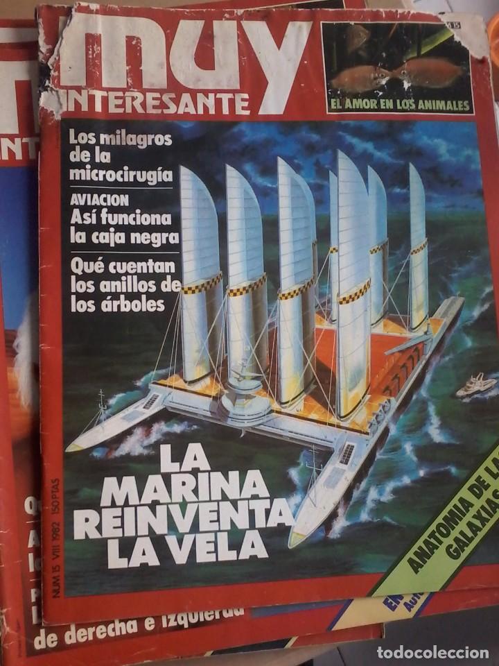 Coleccionismo de Revista Muy Interesante: LOTE DE 74 REVISTAS MUY INTERESANTE - Foto 6 - 77310309