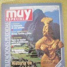 Coleccionismo de Revista Muy Interesante: MUY ESPECIAL - 19 OTOÑO 1994 CIVILIZACIONES PERDIDAS. Lote 80116989