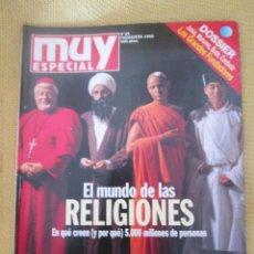 Coleccionismo de Revista Muy Interesante: MUY ESPECIAL -28 PRIMAVERA 1996 EL MUNDO DE LAS RELIGIONES. Lote 80118901
