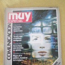Coleccionismo de Revista Muy Interesante: MUY ESPECIAL -2 VERANO 1990 COMUNICACION. Lote 80119125