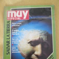 Coleccionismo de Revista Muy Interesante: MUY ESPECIAL -3 OTOÑO 1990 SALVAR LA TIERRA. Lote 80119305