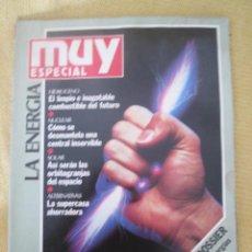 Coleccionismo de Revista Muy Interesante: MUY ESPECIAL -6 VERANO 1991 LA ENERGIA. Lote 80120237