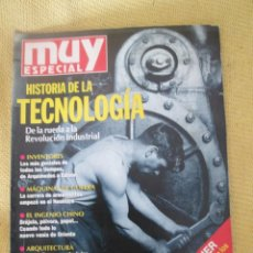 Coleccionismo de Revista Muy Interesante: MUY ESPECIAL -23 OTOÑO 1995 HISTORIA DE LA TECNOLOGIA. Lote 80120585