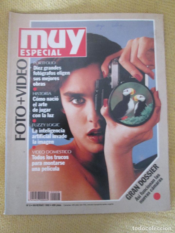MUY ESPECIAL - 8 INVIERNO 1992 FOTO + VIDEO (Coleccionismo - Revistas y Periódicos Modernos (a partir de 1.940) - Revista Muy Interesante)