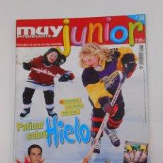 Coleccionismo de Revista Muy Interesante: REVISTA MUY INTERESANTE. JUNIOR Nº 38. DICIEMBRE 2007. PATINAR SOBRE HIELO. INCLUYE POSTER. TDKR35. Lote 84341492