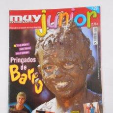 Coleccionismo de Revista Muy Interesante: REVISTA MUY INTERESANTE. JUNIOR Nº 29. MARZO 2007. PRINGADOS DE BARRO. INCLUYE POSTER. TDKR35. Lote 84341568