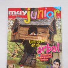 Coleccionismo de Revista Muy Interesante: REVISTA MUY INTERESANTE. JUNIOR Nº 30. ABRIL 2007. UNA CASA EN EL ARBOL. INCLUYE POSTER. TDKR35. Lote 84341704