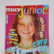 Coleccionismo de Revista Muy Interesante: REVISTA MUY INTERESANTE. JUNIOR Nº 27. ENERO 2007. MIL CARAS DE TU CARA. INCLUYE POSTER. TDKR35. Lote 84341804
