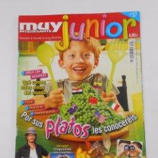 Coleccionismo de Revista Muy Interesante: REVISTA MUY INTERESANTE. JUNIOR Nº 57. JULIO 2009. PLATOS DE COCINA. INCLUYE POSTER. TDKR35. Lote 84341880