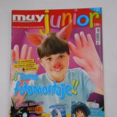 Coleccionismo de Revista Muy Interesante: REVISTA MUY INTERESANTE. JUNIOR Nº 37. NOVIEMBRE 2007. TOMA FOTOMONTAJE. INCLUYE POSTER. TDKR35. Lote 84342092