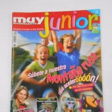 Coleccionismo de Revista Muy Interesante: REVISTA MUY INTERESANTE. JUNIOR Nº 10. AGOSTO 2005. MONTAÑA RUSA. TDKR35. Lote 84342272