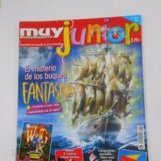 Coleccionismo de Revista Muy Interesante: REVISTA MUY INTERESANTE. JUNIOR Nº 12. OCTUBRE 2005. EL MISTERIO DE LOS BUQUES FANTASMA. TDKR35. Lote 84342436