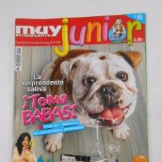 Coleccionismo de Revista Muy Interesante: REVISTA MUY INTERESANTE. JUNIOR Nº 69. JULIO 2010. LA SORPRENDENTE SALIVA. TOMA BABAS. TDKR35. Lote 84342552