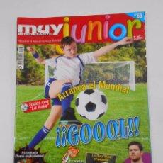 Coleccionismo de Revista Muy Interesante: REVISTA MUY INTERESANTE. JUNIOR Nº 68. JUNIO 2010. ARRANCA EL MUNDIAL. TODOS CON LA ROJA. TDKR35. Lote 84342652