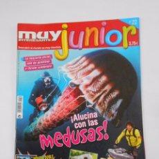 Coleccionismo de Revista Muy Interesante: REVISTA MUY INTERESANTE. JUNIOR Nº 22. AGOSTO 2006. ALUCINA CON LAS MEDUSAS. TDKR35. Lote 84342856