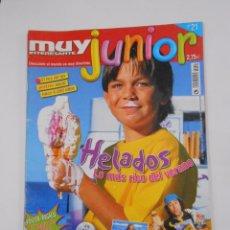 Coleccionismo de Revista Muy Interesante: REVISTA MUY INTERESANTE. JUNIOR Nº 21. JULIO 2006. HELADOS. INCLUYE POSTER. TDKR35. Lote 84342968