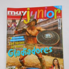 Coleccionismo de Revista Muy Interesante: REVISTA MUY INTERESANTE. JUNIOR Nº 28. FEBRERO 2007. GLADIADORES. TDKR35. Lote 84348964