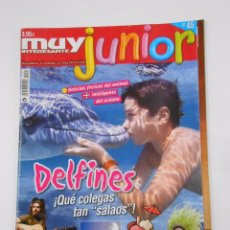 Coleccionismo de Revista Muy Interesante: REVISTA MUY INTERESANTE. JUNIOR Nº 45. JULIO 2008. DELFINES. TDKR35 . Lote 139764378