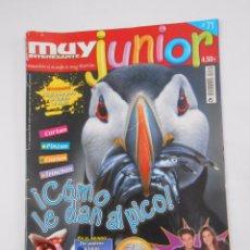 Coleccionismo de Revista Muy Interesante: REVISTA MUY INTERESANTE. JUNIOR Nº 71. SEPTIEMBRE 2010. COMO LE DAN AL PICO. TDKR35 . Lote 139764406