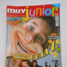 Coleccionismo de Revista Muy Interesante: REVISTA MUY INTERESANTE. JUNIOR Nº 72. OCTUBRE 2010. TRUCOS PARA SER FELIZ. TDKR35 . Lote 84349472