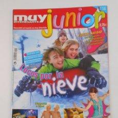 Coleccionismo de Revista Muy Interesante: REVISTA MUY INTERESANTE. JUNIOR Nº 14. DICIEMBRE 2005. LOCOS POR LA NIEVE. INCLUYE POSTER. TDKR35 . Lote 84349836