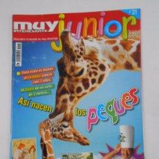 Coleccionismo de Revista Muy Interesante: REVISTA MUY INTERESANTE. JUNIOR Nº 31. MAYO 2007 ASI NACEN LOS PEQUES. TDKR35. Lote 84350052
