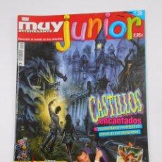 Coleccionismo de Revista Muy Interesante: REVISTA MUY INTERESANTE. JUNIOR Nº 36. OCTUBRE 2007. CASTILLOS ENCANTADOS. TDKR35 . Lote 84350492