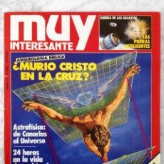 Colecionismo da Revista Muy Interesante: REVISTA MUY INTERESANTE - Nº 47 - ABRIL 1985 - MURIÓ CRISTO EN LA CRUZ. Lote 85291460