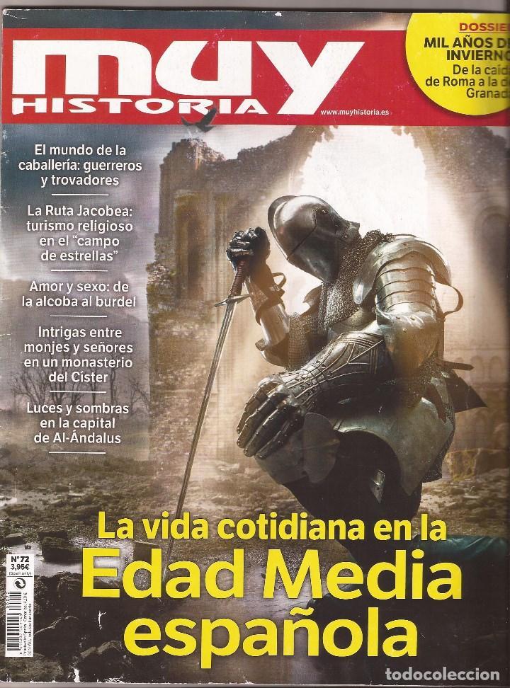 MUY HISTORIA - LA VIDA COTIDIANA EN LA EDAD MEDIA ESPAÑOLA (Coleccionismo - Revistas y Periódicos Modernos (a partir de 1.940) - Revista Muy Interesante)