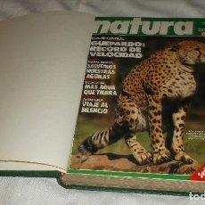 Coleccionismo de Revista Muy Interesante: REVISTAS DE NATURA (MUY INTERESANTE) SERIE PARQUES NATURALES DOÑANA ENCUADERNADO. Lote 89099044