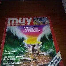 Coleccionismo de Revista Muy Interesante: MUY INTERESANTE NUMERO 34 1984. B5R. Lote 89556396