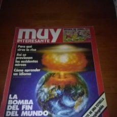 Coleccionismo de Revista Muy Interesante: MUY INTERESANTE NUMERO 30 XI. 1983. Lote 89557108
