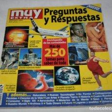 Coleccionismo de Revista Muy Interesante: MUY INTERESANTE EXTRA, VERANO 2001, PREGUNTAS Y RESPUESTAS, MAS DE 250 TEMAS, REVISTA. Lote 90198720