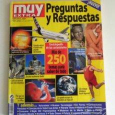 Coleccionismo de Revista Muy Interesante: REVISTA MUY EXTRA PREGUNTAS Y RESPUESTAS 2001 INTERESANTE CIENCIAS DEPORTE HISTORIA SEXO NATURALEZA. Lote 90782460