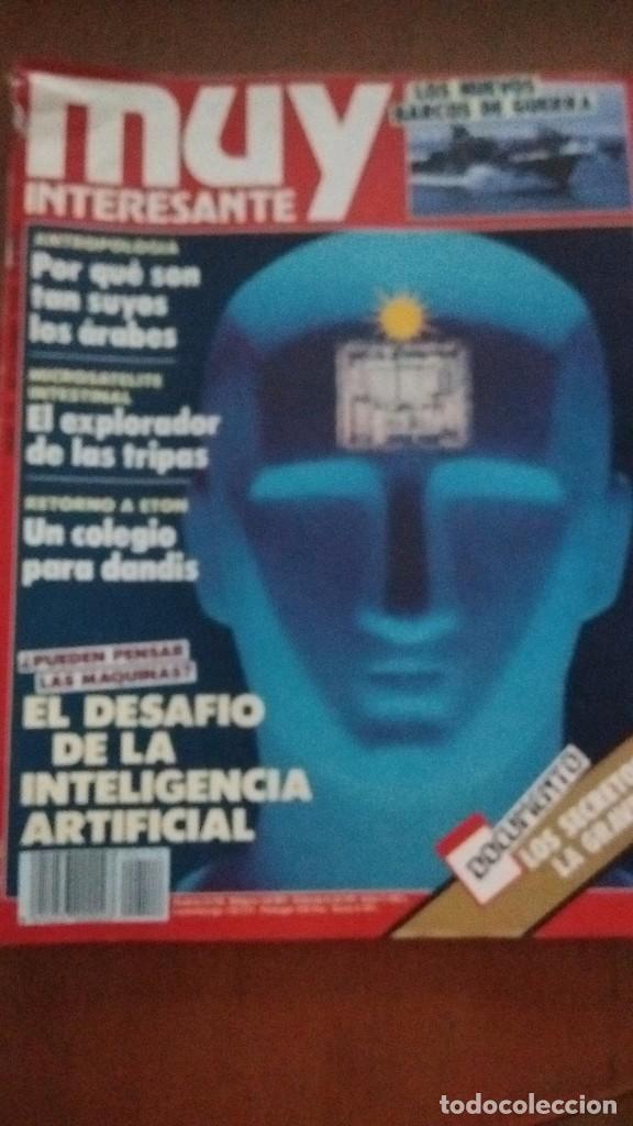 REVISTA MUY INTERESANTE: EL DESAFÍO DE LA INTELIGENCIA ARTIFICIAL NUM. 114 NOVIEMBRE 1990 (Coleccionismo - Revistas y Periódicos Modernos (a partir de 1.940) - Revista Muy Interesante)