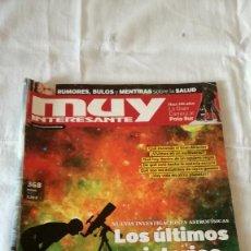 Coleccionismo de Revista Muy Interesante: REVISTA MUY INTERESANTE, Nº 368, ENERO 2012. Lote 92853950