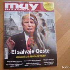 Coleccionismo de Revista Muy Interesante: REVISTA MUY HISTORIA Nº 89,EL SALVAJE OESTE,NUEVA.. Lote 96214470