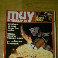 Coleccionismo de Revista Muy Interesante: REVISTA MUY INTERESANTE Nº 62 JULIO 1986. Lote 95901683
