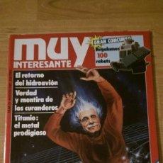 Coleccionismo de Revista Muy Interesante: REVISTA MUY INTERESANTE Nº 75 AGOSTO 1987. Lote 95902155