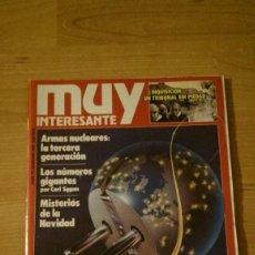Coleccionismo de Revista Muy Interesante: REVISTA MUY INTERESANTE Nº 79 DICIEMBRE 1987. Lote 95902359