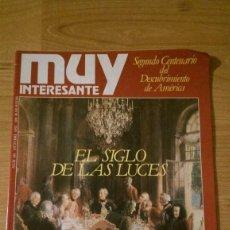 Coleccionismo de Revista Muy Interesante: REVISTA MUY INTERESANTE Nº 101 «EL SIGLO DE LAS LUCES». Lote 95902515