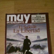 Coleccionismo de Revista Muy Interesante: REVISTA MUY INTERESANTE Nº 113 «EL SIGLO DE LA LIBERTAD». Lote 95902539