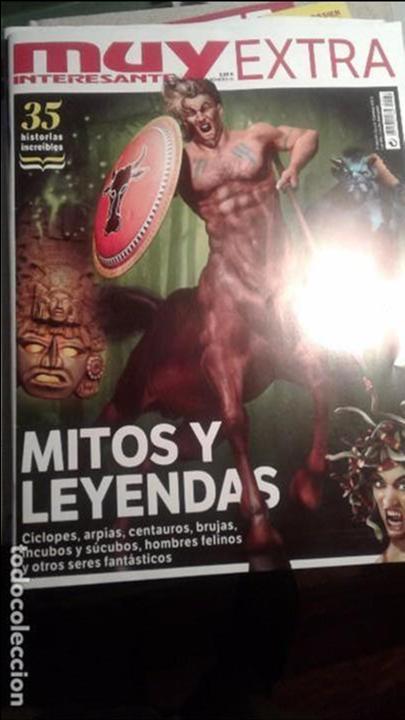 MUY INTERESANTE-MITOS Y LEYENDAS-2 (Coleccionismo - Revistas y Periódicos Modernos (a partir de 1.940) - Revista Muy Interesante)
