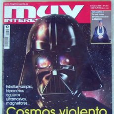Coleccionismo de Revista Muy Interesante: MUY INTERESANTE - Nº 341 OCTUBRE 2009 - COSMOS VIOLENTO Y OTROS - VER SUMARIO. Lote 101694159